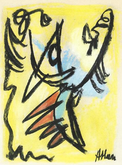 , 'Bird,' 1948, HUNDERTMARKartFAIR