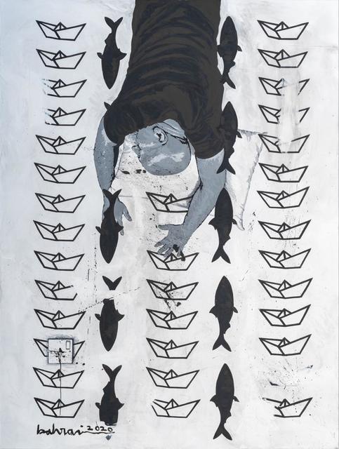 Ahmad Al Bahrani, 'A Dream 5 / حلم 1', 2020, Painting, Acrylic on Canvas, al markhiya gallery
