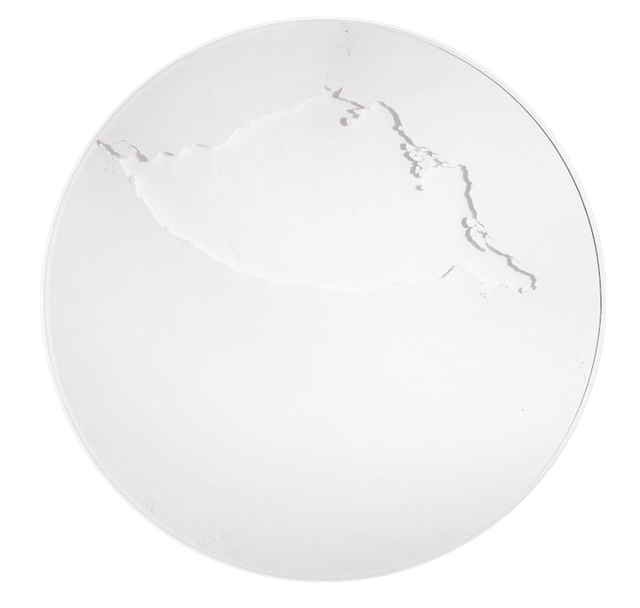 , 'Cercle blanc titane,' 2012, Espace Meyer Zafra