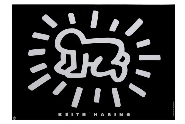 Keith Haring, 'Radiant Baby', 1990, Chiswick Auctions