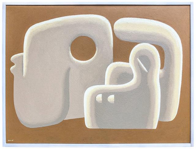 , 'Deconstructed Figure,' 2018, Ampersand