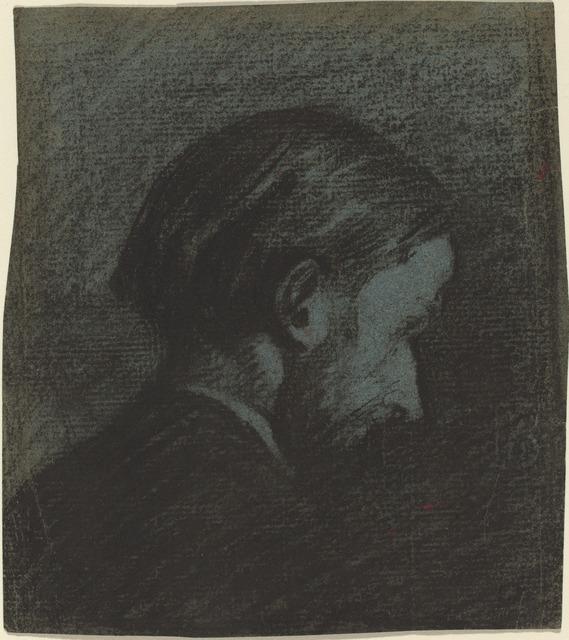 Édouard Vuillard, 'Head of a Bearded Man', 1889, National Gallery of Art, Washington, D.C.