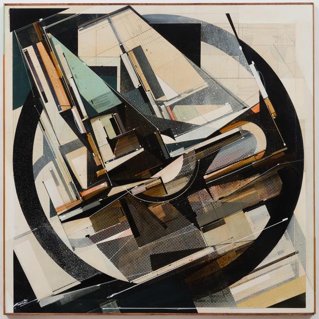 , 'Rotary account,' 2018, Galerie Matthew Namour