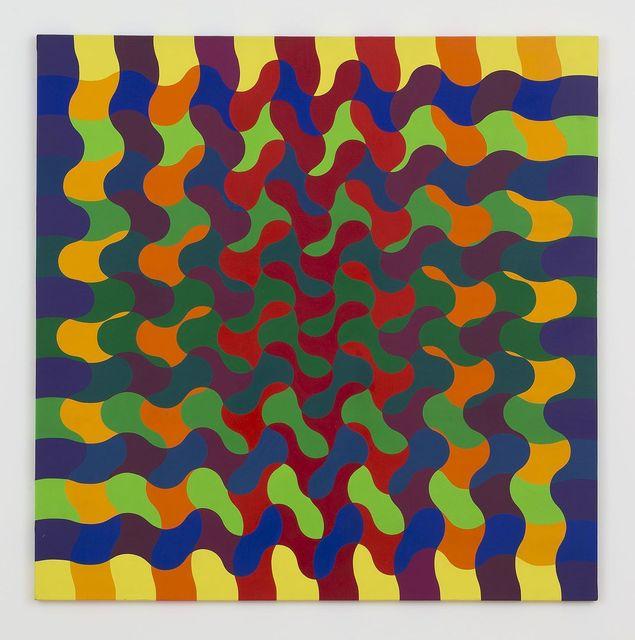 Julio Le Parc, 'Ondes 140 Sèrie 50 n°1', 1974, Perrotin
