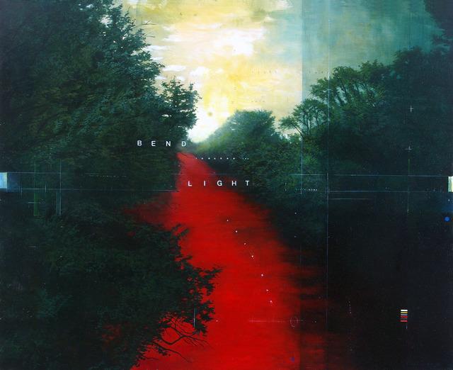 , 'Bend Towards the Lights,' 2011, Newzones