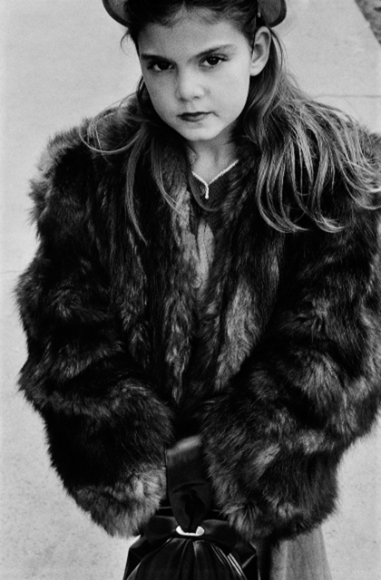 , 'Young Girl Wearing Fur Coat, NYC,' 1950, PDNB Gallery