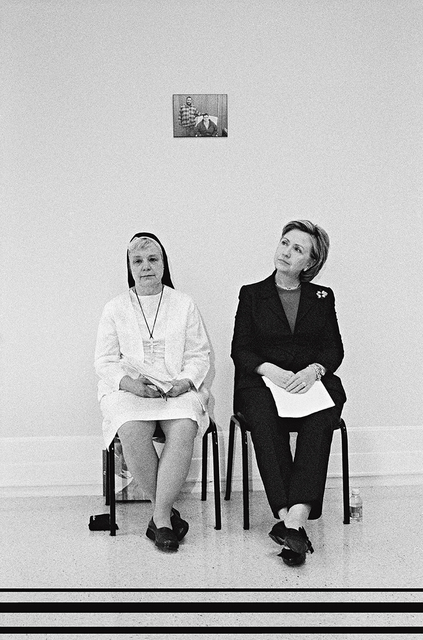 , 'Senator Hillary Clinton with Felician Nun Sister Johnice, New York,' 2006, Addison/Ripley Fine Art