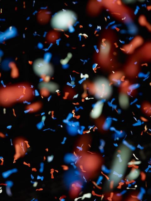, 'Untitled (confetti #5),' 2012, Gagosian