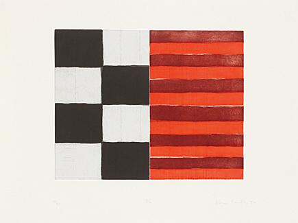 Sean Scully, 'π', 1994, Print, Coloured aquatint etching, Galerie Boisseree
