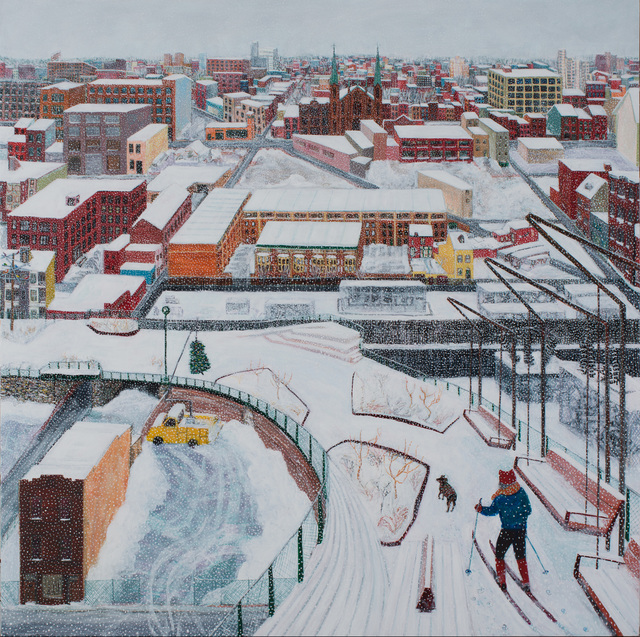 , 'Rail Park Winter,' 2019, Locks Gallery