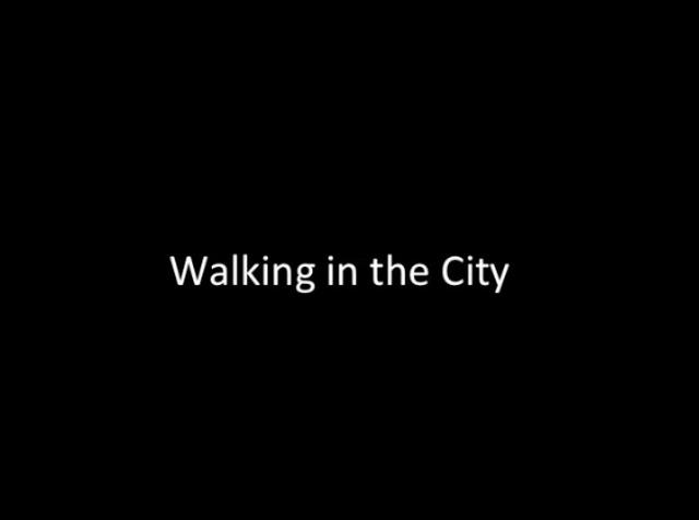 , 'Walking in the City,' 2017, PRAZ-DELAVALLADE
