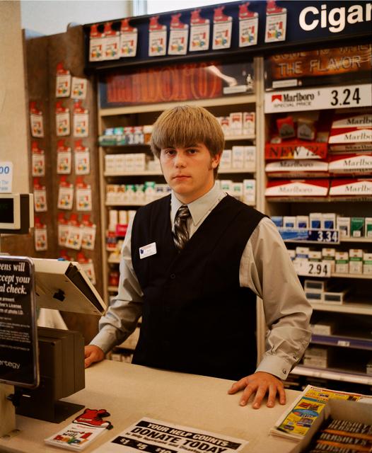 Gregory Halpern, 'John, Service Clerk, Cubby's Grocery Store, Omaha, NE', 2005-2018, Huxley-Parlour