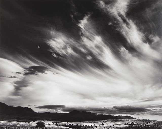 , 'Moon and Clouds, Northern California,' 1959, The Ansel Adams Gallery