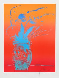 Peter Max, 'Blue Vase,' 1981, Heritage Auctions: Holiday Prints & Multiples Sale
