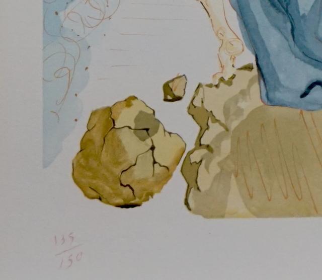 Salvador Dalí, 'Divine Comedy Hell Canto 19', ca. 1963, Print, Woodcut, Fine Art Acquisitions Dali