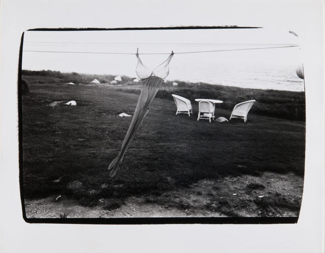, 'Andy Warhol, Woman's Brassier and Stockings on Clothesline in Montauk,' , Hedges Projects