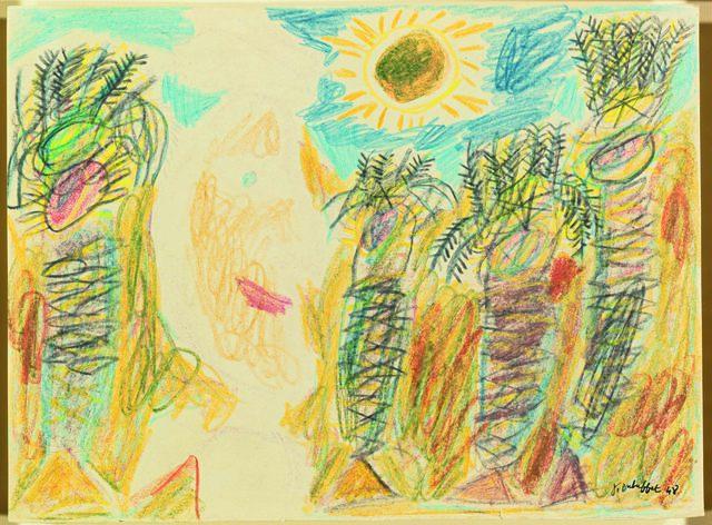 , 'Arabe et palmiers sous le soleil,' 1948, Omer Tiroche Gallery