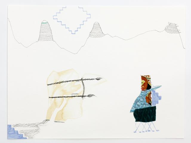 , 'Firmly Tied,' 2016, Galerie Martin Janda