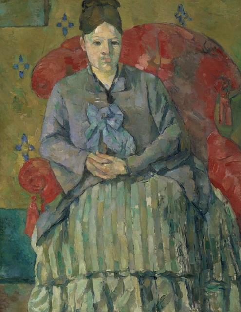 Paul Cézanne, 'Madam Cézanne in a Red Armchair ', c. 1877, The Metropolitan Museum of Art