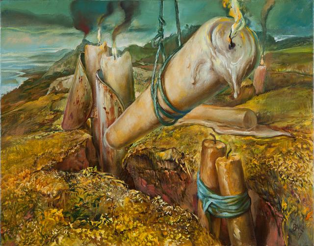 Samuel Bak, 'Entrenched', 2017, Pucker Gallery