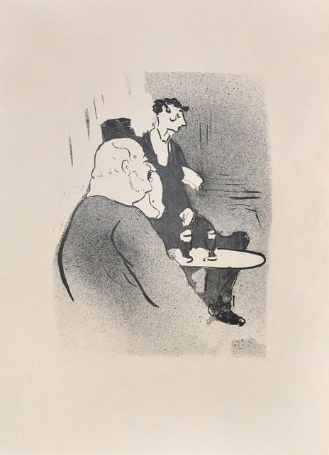 , 'Ducarre at the Ambassadeurs,' 1893, Ronin Gallery