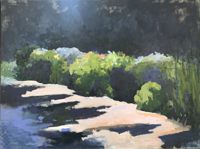 , 'On The Pond,' 2018, J. Cacciola Gallery
