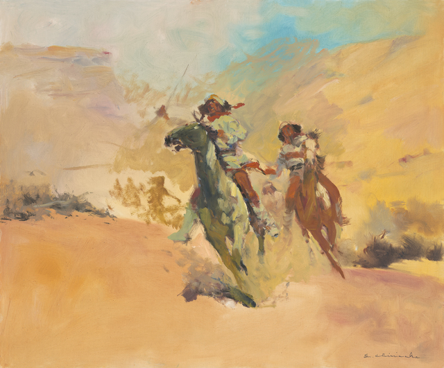 Ernest Chiriacka, 'The Renegades', 19770-1980, Casweck Galleries