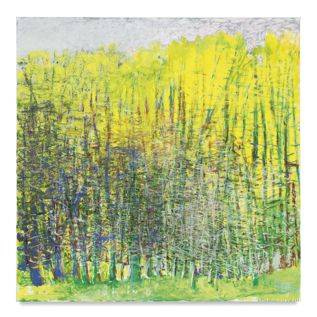 , 'Blue to Yellow Through Green,' 2016, Miles McEnery Gallery