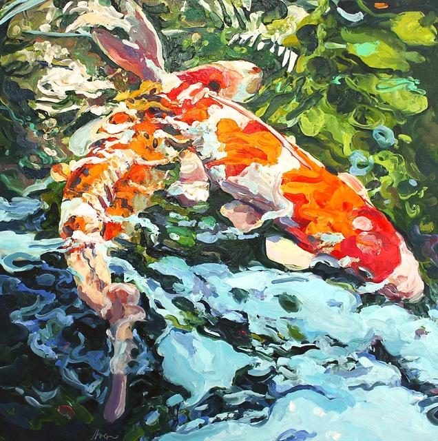 , 'Two Koi Encore,' 2016, Beth Urdang Gallery