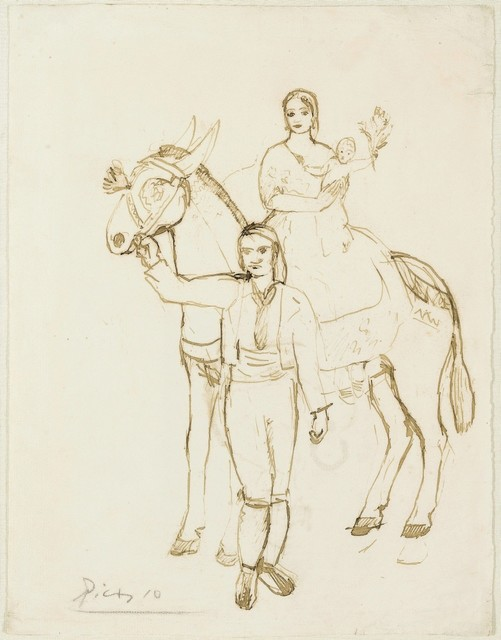 Pablo Picasso, 'Une famille Catalane', 1902, Galerie Thomas