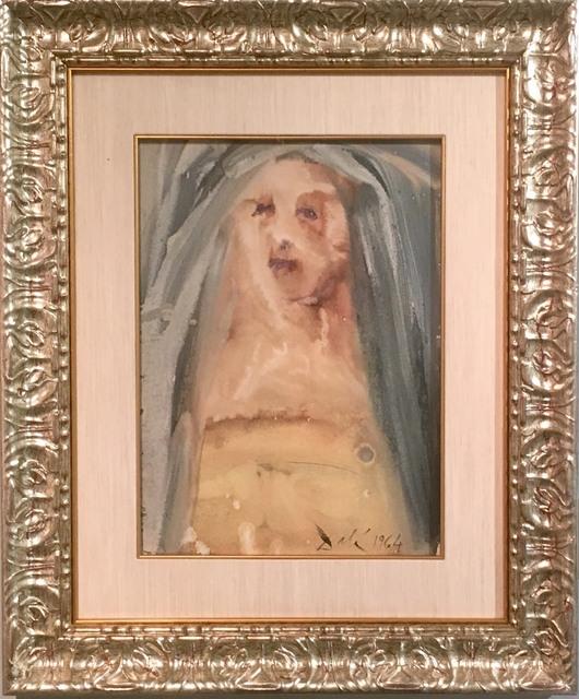 Salvador Dalí, 'Biblia Sacra: Plange, Virgo, Accincta Sacco (Lament, Virgin, Girded With Sackcloth) 2-18', 1964, Print, Color lithograph on heavy rag paper, Baterbys