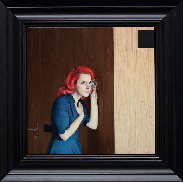 , 'Glass Against the Wall II,' 2019, ARCADIA CONTEMPORARY