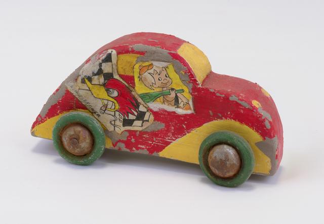 , 'Red Car ,' 2017, Marc Selwyn Fine Art