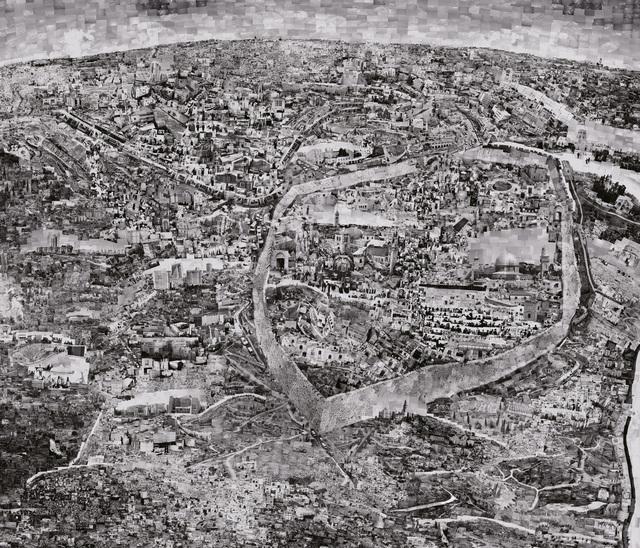 , 'Diorama Map Jerusalem,' 2012-2013, Michael Hoppen Gallery