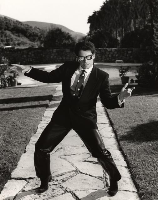 , 'John Travolta: Santa Barbara, CA,' 1985, Lumiere Brothers Gallery