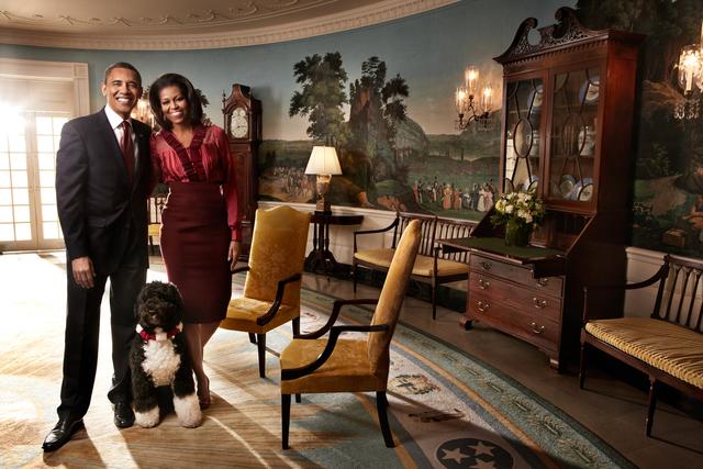 Art Streiber, 'President Barack Obama & Michele Obama', 2011, Los Angeles Center of Photography Benefit Auction
