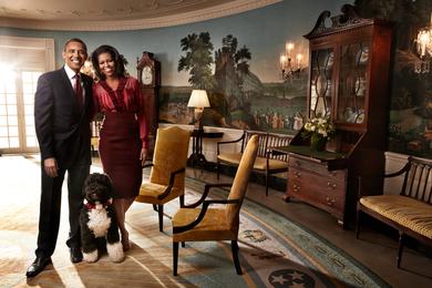 President Barack Obama & Michele Obama