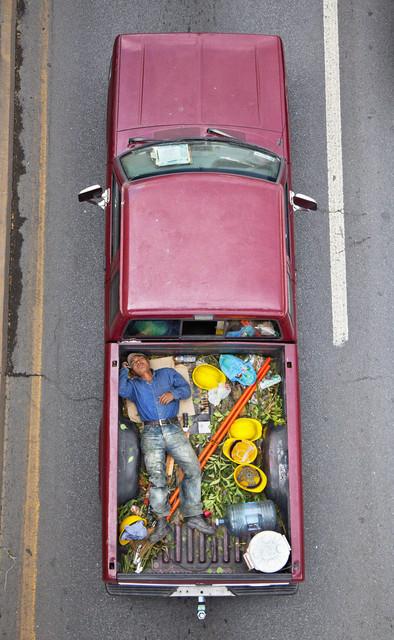 , 'Carpoolers 23,' 2011-2012, CuratorLove