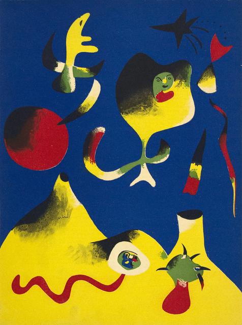 Joan Miró, 'Air', 1937, Heather James Fine Art Gallery Auction