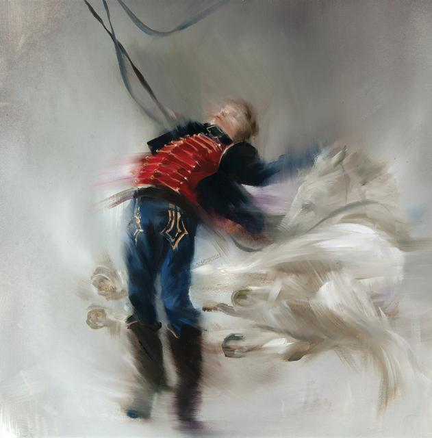 , 'Bara's Winged White Horses after La Mort de Bara by J.J. Weerts 1883,' , Dowling Walsh