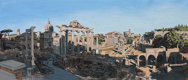 , 'Study: The Forum Rome (late afternoon),' , Plus One Gallery