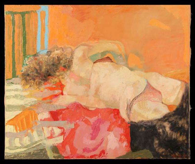, ''Nudo femminile sdraiato',' 1966, 11 [HellHeaven]