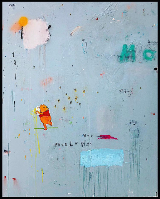 , 'Mas Honey, Mas Problemas,' 2019, Bruce Lurie Gallery