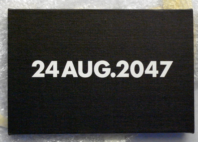 , '24 Aug. 2047,' 2014, Tatjana Pieters