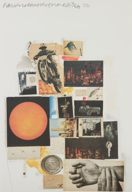 Robert Rauschenberg, 'Untitled (Whitney exhibition)', 1990, Phillips