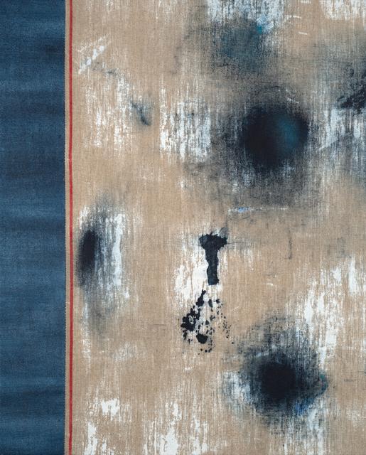 , 'Untitled (Red Selvedge, Left Seam),' 2017, Alfa Gallery