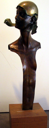 , 'Woman with Polished Brass Helmet XIII,' , Zenith Gallery