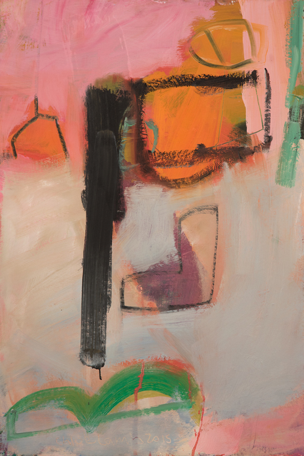 , 'Orange Flag,' 2015, Hollis Taggart