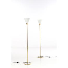 Model No. 0556 B; Pair of lamps