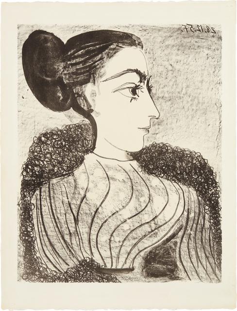 Pablo Picasso, 'Femme au chignon (Woman with Chignon)', 1957, Phillips